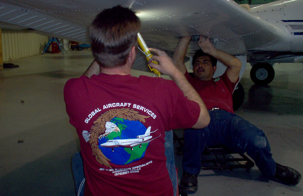 Home - Global Aircraft Service | Airplane fuel systems